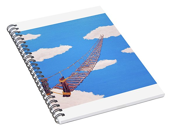 Bridge To Nowhere Spiral Notebook