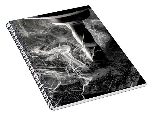 End Mill Spiral Notebook