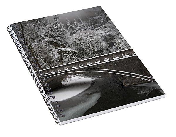 Bridges Of Multnomah Falls Spiral Notebook