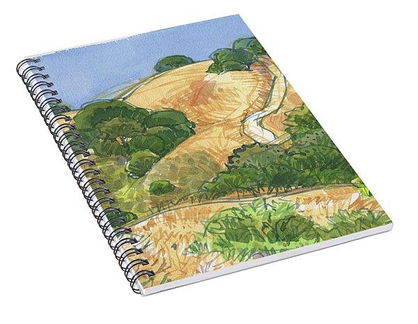 Briones Crest Trail In June Spiral Notebook