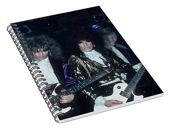 Britny Fox Live Spiral Notebook