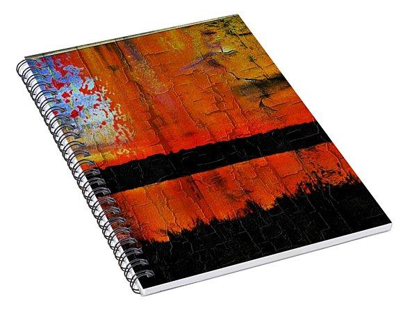 Broken View Spiral Notebook