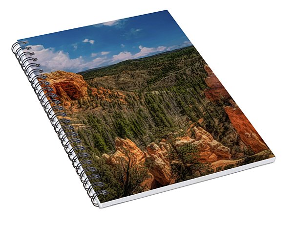 Bryce Canyon From The Top Spiral Notebook