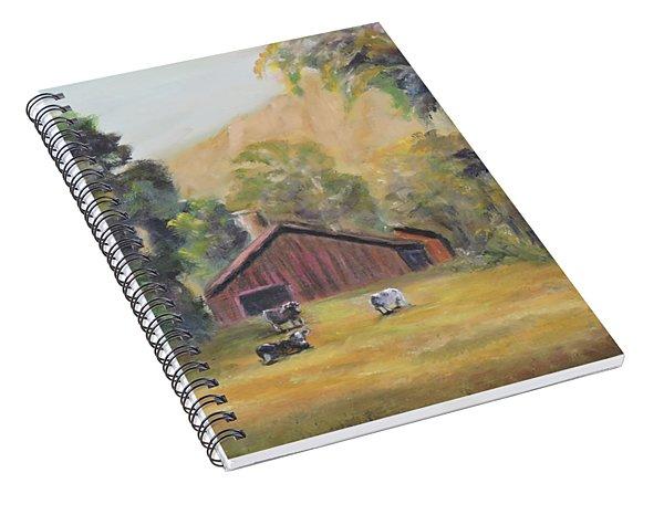 Bucks County Pa Barn Spiral Notebook