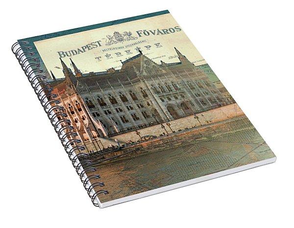 Budapest Fovaros Spiral Notebook