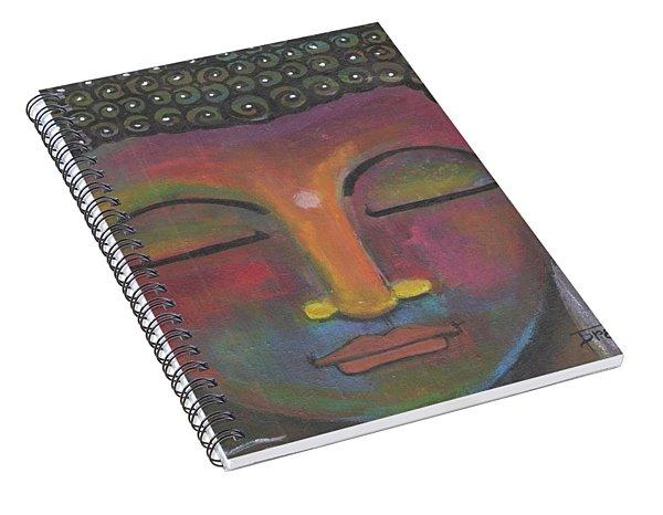Buddha Meditating Spiral Notebook