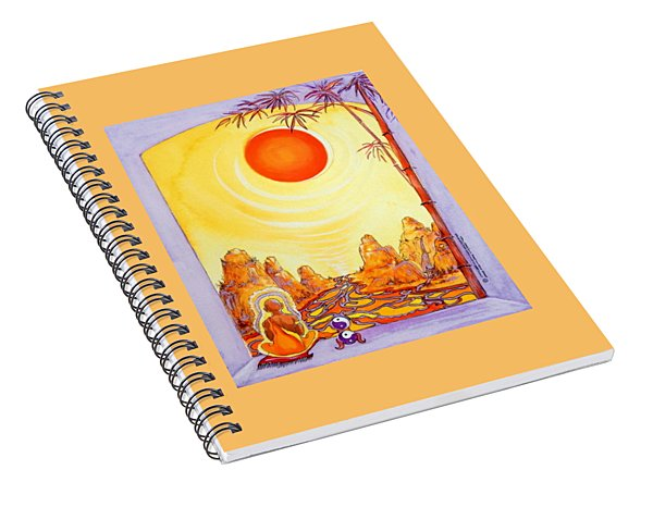 Buddha Meditation Spiral Notebook