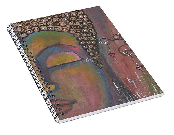 Buddha - Sow Seeds Of Love Spiral Notebook