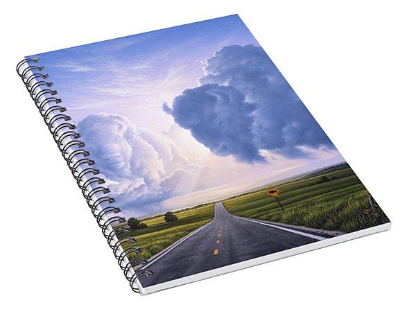 Buffalo Crossing Spiral Notebook