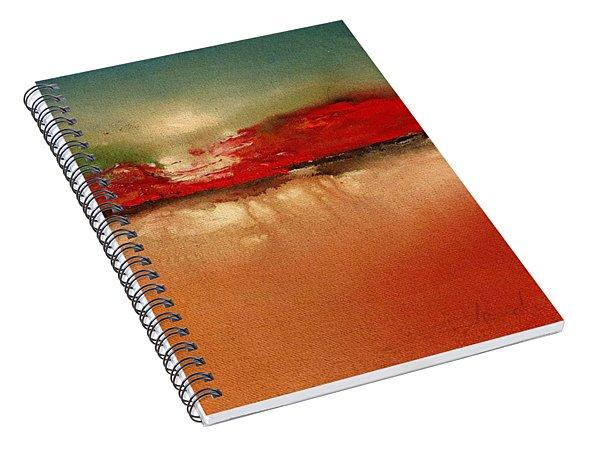 Burgundy Mountain Spiral Notebook