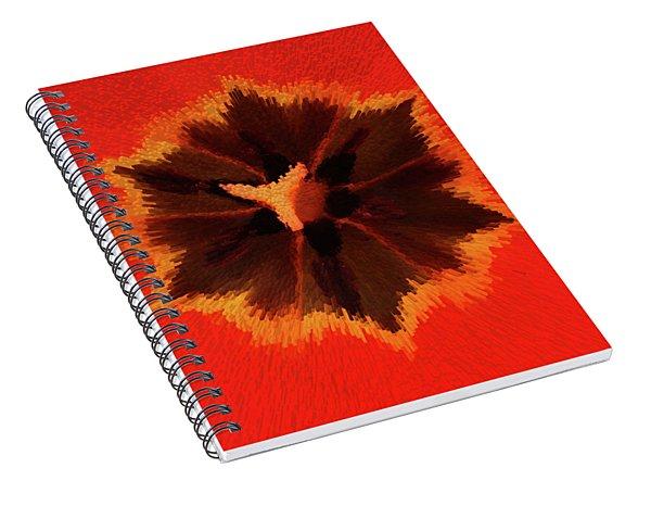 Bursting Spiral Notebook