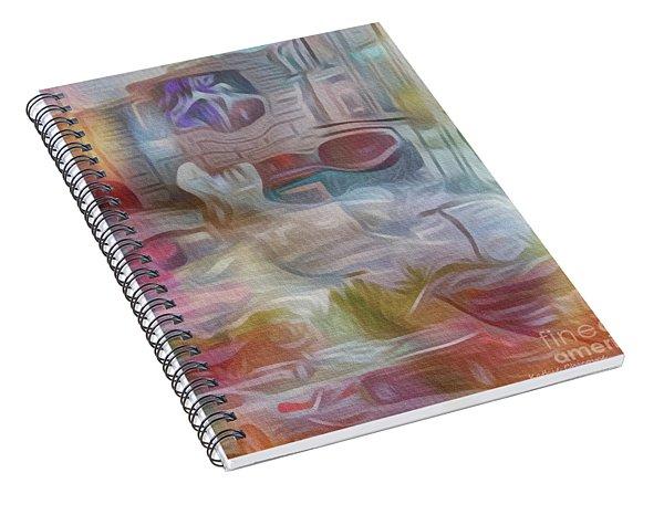 Busy Daze Spiral Notebook