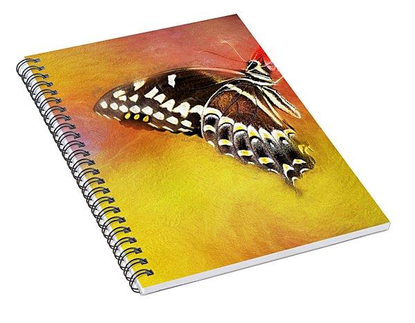 Butterflies Are Self Propelled Flowers Spiral Notebook
