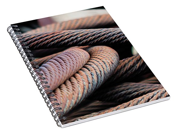 Cable Chaos Spiral Notebook