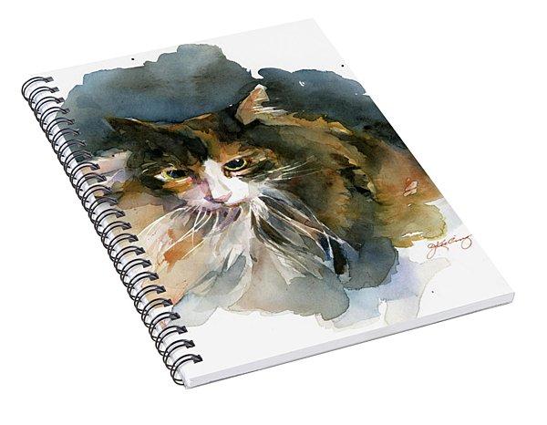 Calico Cat Spiral Notebook