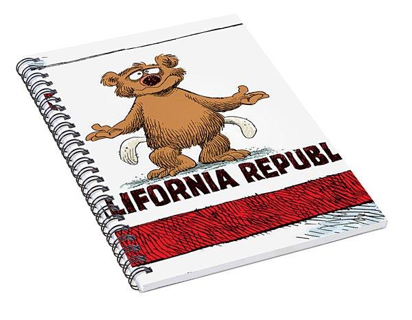 California Empty Pockets Spiral Notebook