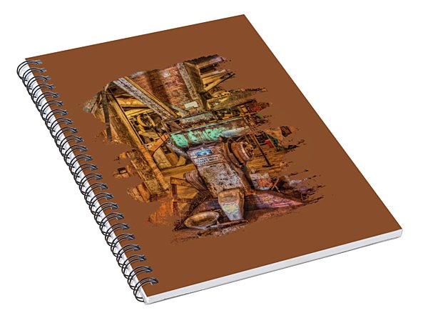 California Pellet Mill Co Spiral Notebook