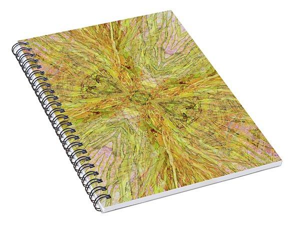 California Spring Oscillation Gemstone Spiral Notebook