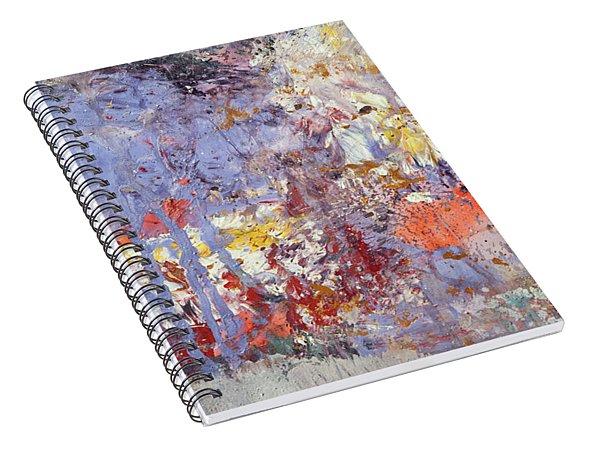 Calling Universe. Fragment 3 Spiral Notebook