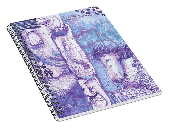 Calling Upon Spirit Animals Spiral Notebook