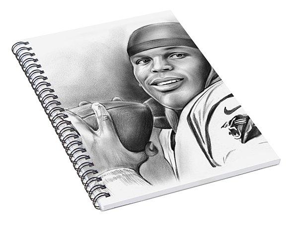 Cam Newton Spiral Notebook