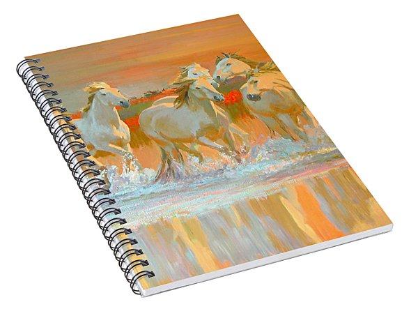 Camargue  Spiral Notebook