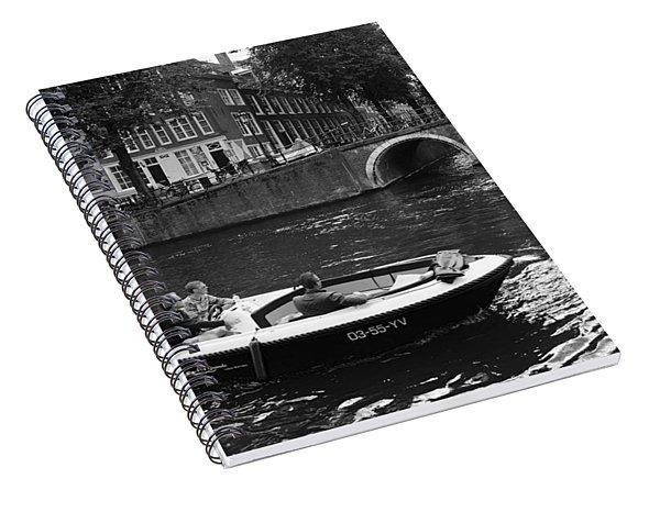 Canal Life Amsterdam Spiral Notebook
