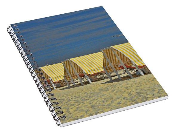 Cape May Cabanas 6 Spiral Notebook