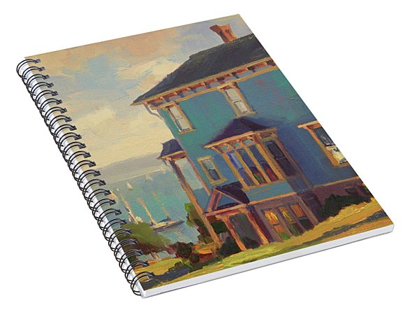 Captain's House Spiral Notebook