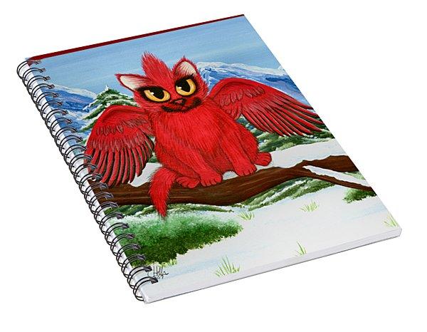 Cardinal Cats Spiral Notebook
