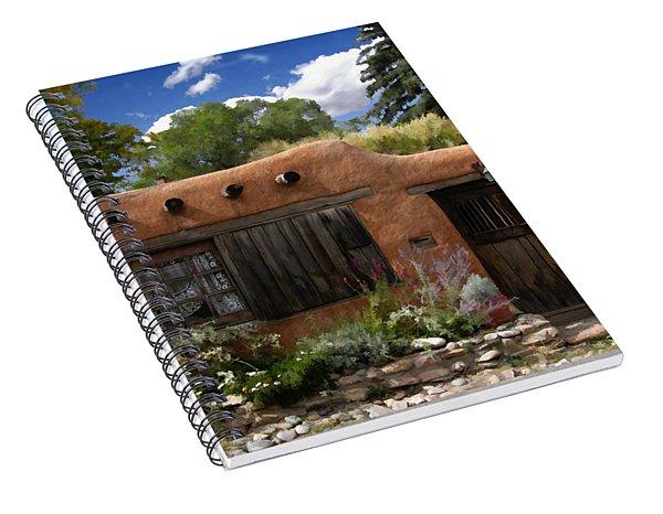 Casita De Santa Fe Spiral Notebook