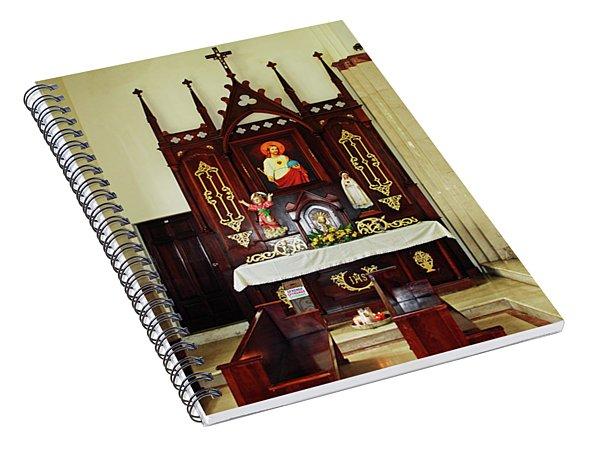 Cathedal San Felipe Spiral Notebook