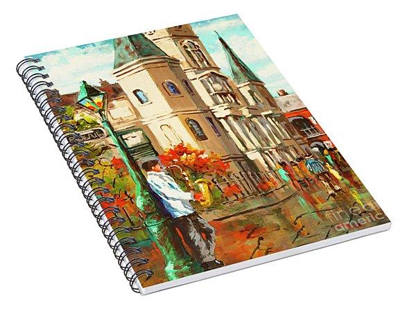 Cathedral Jazz Spiral Notebook