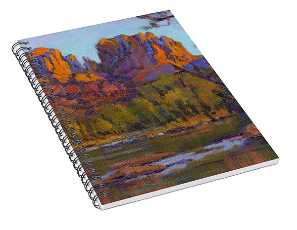 Cathedral Rock 2 Spiral Notebook
