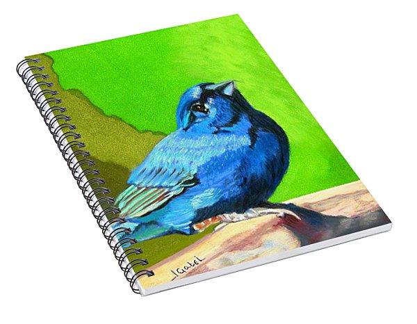 Catherine's Springtime Spiral Notebook