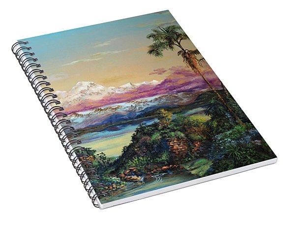 Cayambe-ish Spiral Notebook