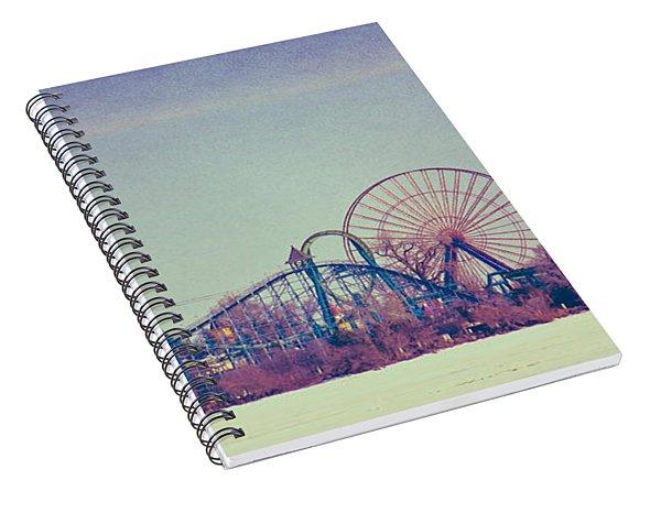 Cedar Point Skyline Spiral Notebook