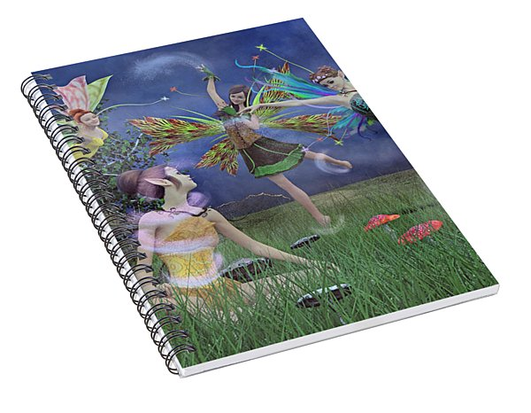Celebration Of Night Alice And Oz Spiral Notebook