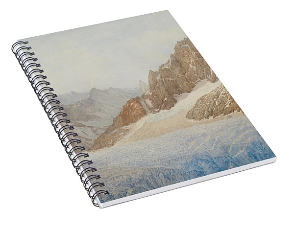 Chamonix Spiral Notebook