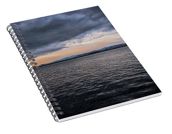 Champlain Sunrise Spiral Notebook