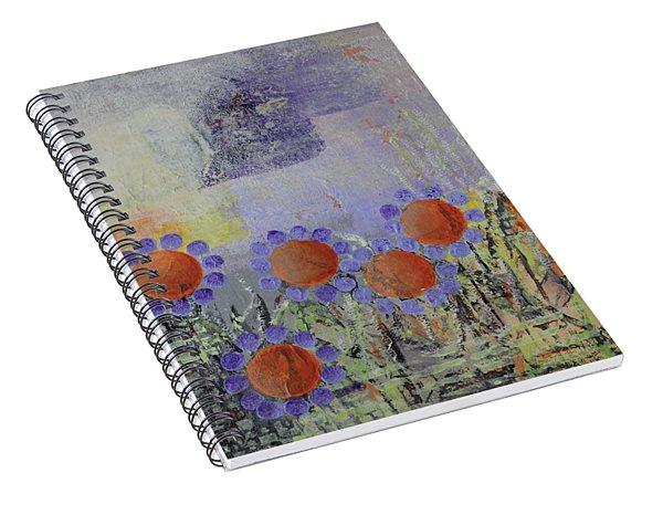 Cheery Flowers Spiral Notebook