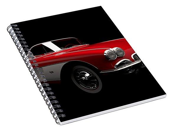 Chevrolet Corvette C1 Spiral Notebook