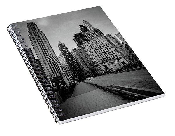 Chi Strolling Spiral Notebook
