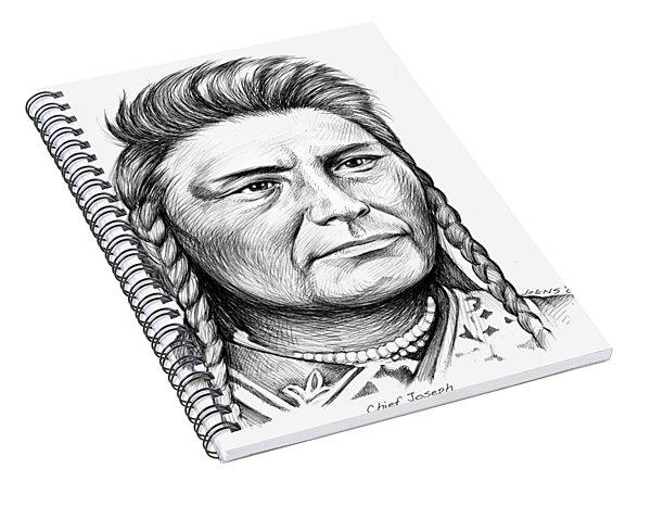 Chief Joseph Spiral Notebook
