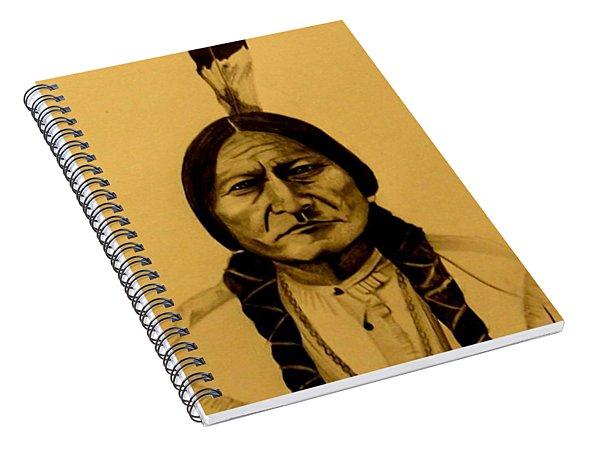 Chief Sitting Bull  Tatanka Iyotake Spiral Notebook