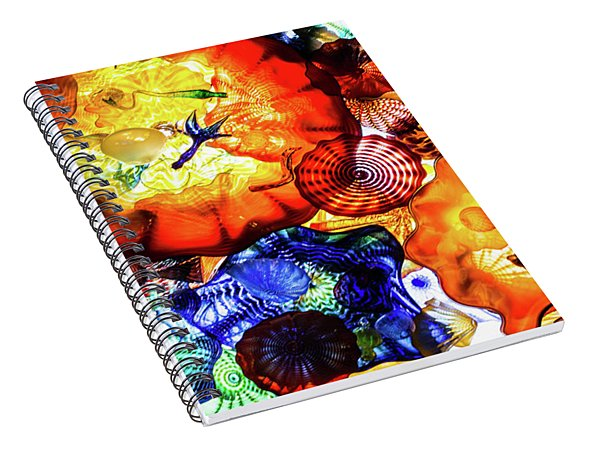Chihuly Art Spiral Notebook