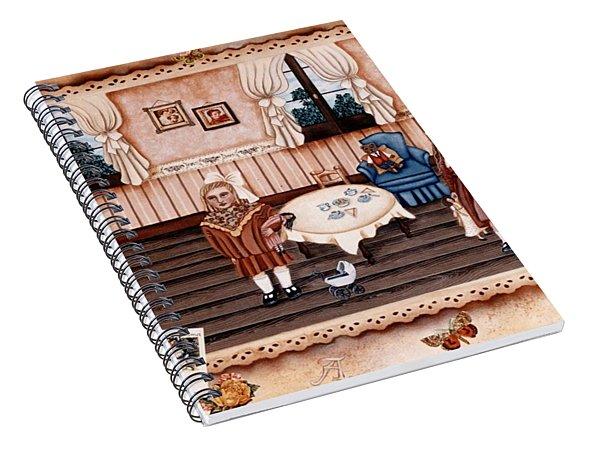 Childhood Afternoons Spiral Notebook