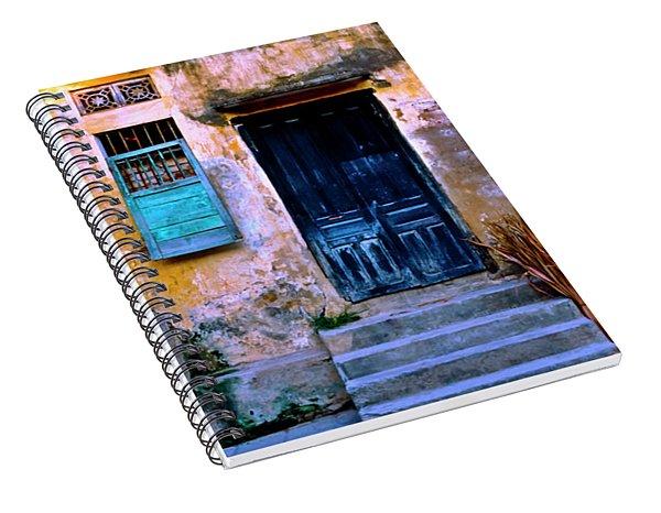 Chinese Facade Of Hoi An In Vietnam Spiral Notebook