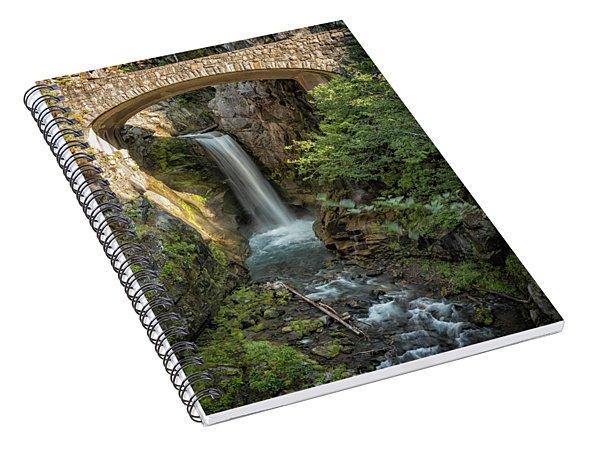 Christine Falls Spiral Notebook