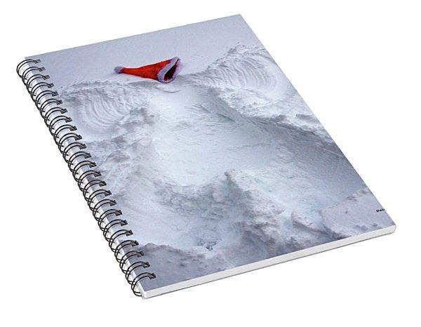 Christmas Angel Spiral Notebook